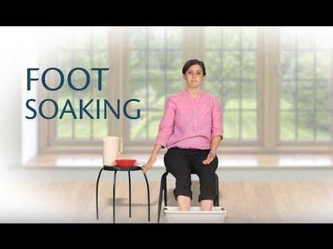 Foot soaking