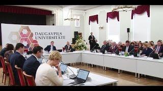 В Даугавпилсе впервые прошло заседание Кабинета министров