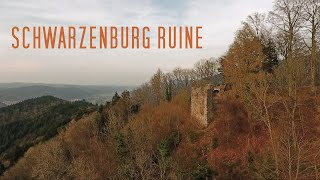 Waldkirch Schwarzenburg-Ruine ( DJI Phantom 4 )