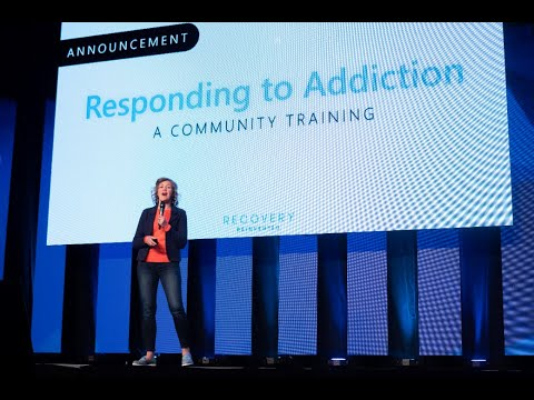 "Thumbnail: ""Responding to Addiction"" Community Training Announcement 