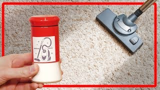 5 cool life hacks that will help you clean the carpet on your own. Tips and Tricks.