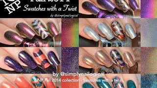 ILNP (I Love Nail Polish) Fall 2014 collection swatches - with a twist! thumbnail