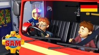 Feuerwehrmann Sam Deutsch Neue Folgen | Norman fährt Jupiter 🚒 Rettet Marathon | Cartoons fur Kinder