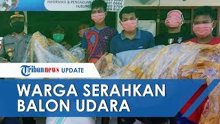 Ramai Fenomena Titik Putih di Siang Bolong, Warga Ponorogo Serahkan Balon Udara Gegara Takut Dihukum