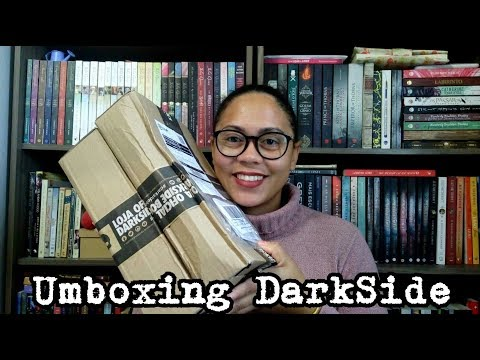 UNBOXING DARKSIDE BOOKS *1