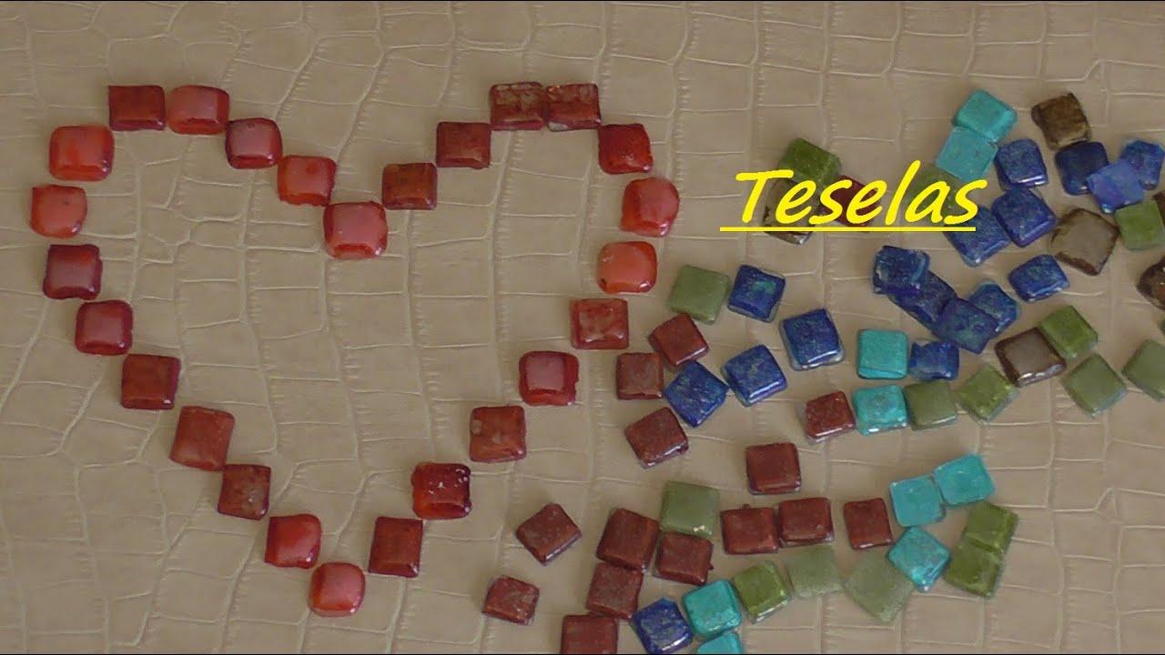 Cómo hacer Teselas reciclando CD's