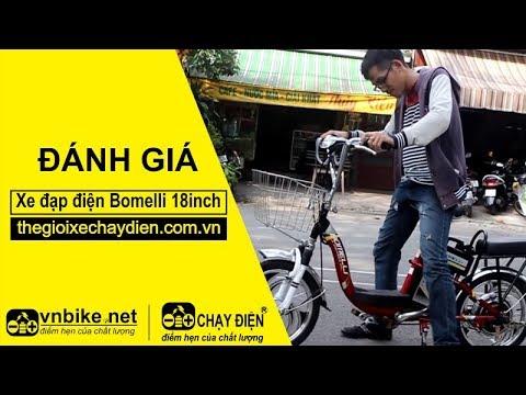Đánh giá xe đạp điện Bomelli 18inch