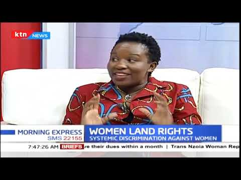Systematic discrimination against women on land