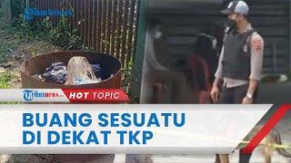Misteri Wanita dari Mobil Silver Dicurigai Pelaku Pembunuhan di Subang, Terekam CCTV Buang Sesuatu