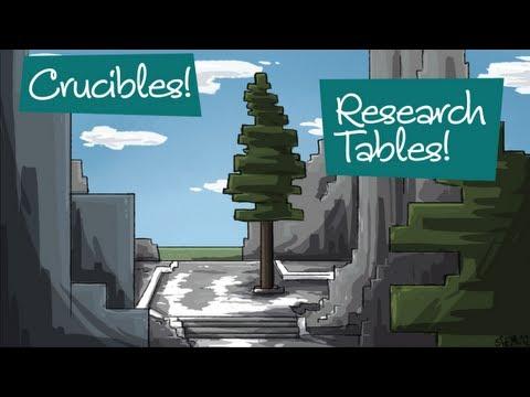 Block Spotlight | Thaumcraft 5: Crucible - смотреть онлайн