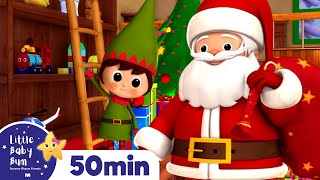 Jingle Bells | Christmas Songs | Plus Lots More Children's Songs! | 55 Mins from LittleBabyBum!