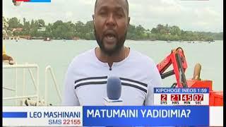 Juhudi za kutafuta Miili ya mama na mtoto waliozama katika bahari hindi huenda ukaisha leo