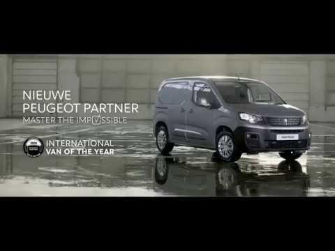 Peugeot Partner Fourgon Фургон класса M - рекламное видео 3