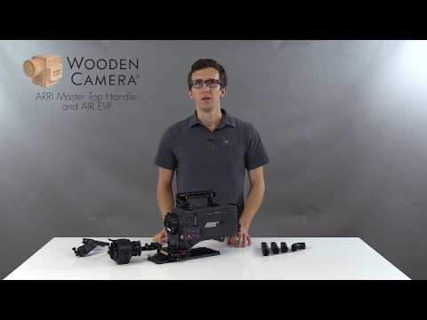 Wooden Camera ARRI Master Top Handle | AIR EVF for ARRI Alexa XT, SXT, SXT-W, Classic