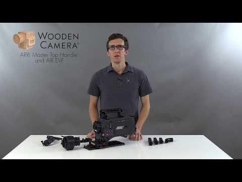 Wooden Camera ARRI Master Top Handle | AIR EVF for ARRI Alexa XT, SXT, SXT-W, Classic