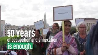 50 jaar annexatie en bezetting is genoeg !