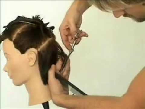 Corte de pelo en 45 grados
