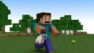 "♪ ""Diamond Sword"" Minecraft Animation (Music Video) Minecraft Song"