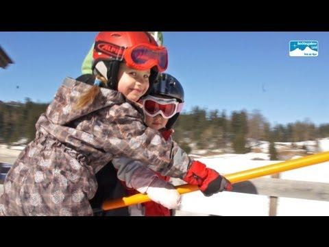 Familien Skifahren Bayern Deutschland: Skigebiet Obersalzberg in Berchtesgaden
