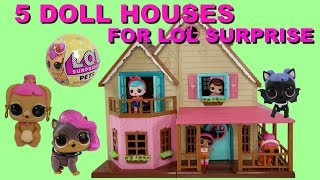 Lol Surprise Series 4 Dollhouse Free Video Search Site Findclip