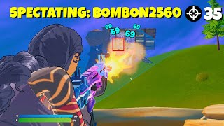 i died and spectated this amazing player AND HE WON... (shocking)