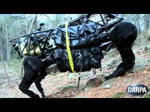 Watch BigDog Robot's Big Brother Romp Around The Woods