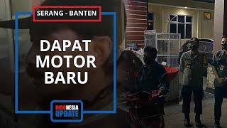 Motor Sopir Ojek yang Dicuri Penumpang Kini Dapat Kendaraan Baru, Polisi Rahasiakan Pemberi