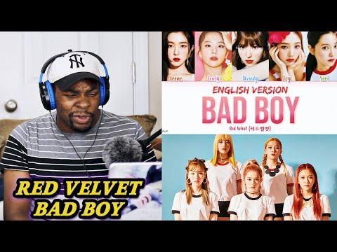 NEW FIRE KPOP GROUP!?!? Red Velvet - Bad Boy (English Version) REACTION   Jamal_Haki