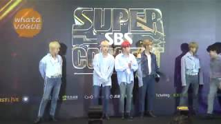 【SBS SUPER CONCERT IN TAIPEI 】 BTS 防彈少年團