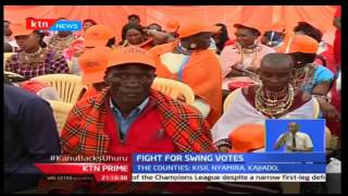 CORD leader Raila Odinga promises to campaign strongly at Jubilee perceived strongholds