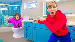 Mystery Neighbor FOUND Hiding In My House!! (Ultimate Hide and Seek Challenge)