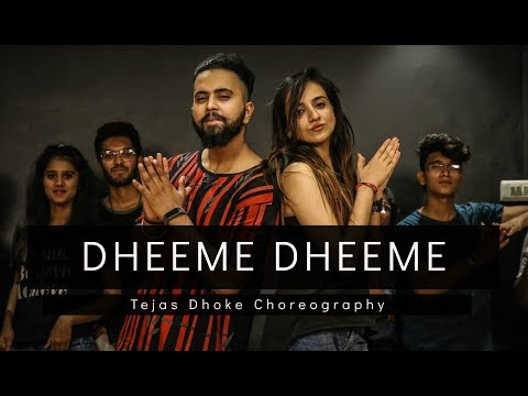 Download DHEEME DHEEME | Tony Kakkar | Tejas Dhoke Choreography | Dancefit Live HD Mp4 3GP Video and MP3