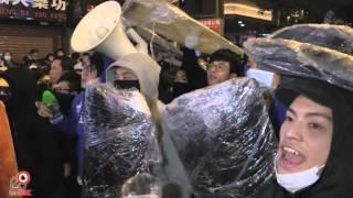 09FEB2016警察與示威者於朗豪坊山東街交界衝突