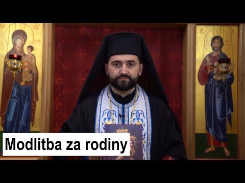ARCHIMANDRITA JAROSLAV LAJČIAK: Modlitba za rodiny ku Klokočovskej Bohorodičke