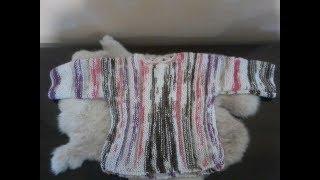 DIY Tuto Tricot Layette Tricoter Une Brassière Bébé . Tricot Facile