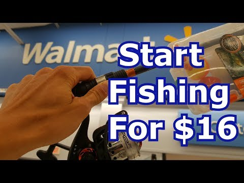 Best Walmart Fishing Gear for Beginners – Rods, Reels, Lures, Tackle