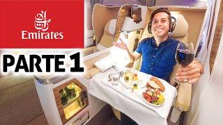 ✈️Vuelo de Lujo! 1st Flight EMIRATES, México a Dubai | Experiencia BUSINESS CLASS ✈️