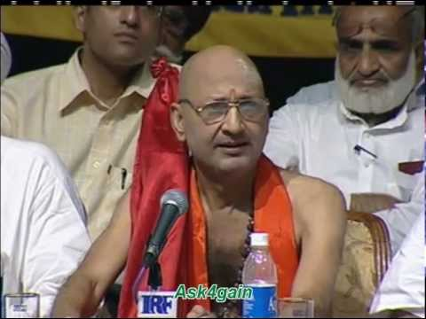 Hindu Brother Shankaracharya SpeaksAbout Islam - Dr. Zakir Naik