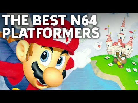 The Top 9 Nintendo 64 Platformers Of All Time