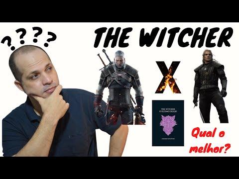 The Witcher - Livros x Série x Jogos - Qual é a melhor experiência? | Leitores