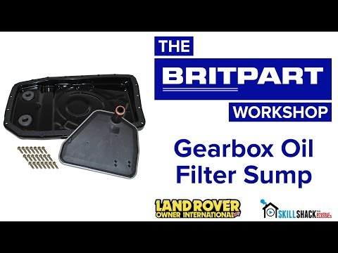 Gearbox Oil Filter Sump