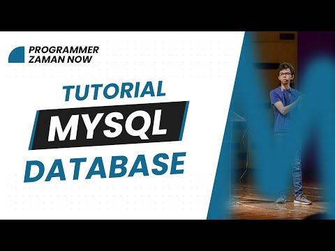 TUTORIAL MYSQL DATABASE BAHASA INDONESIA