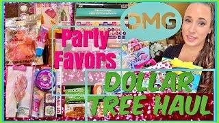 Dollar Tree Haul // PARTY FAVOR IDEAS