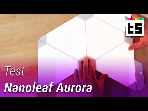 Test: Nanoleaf Aurora – LEDs mit App-Steuerung   TechStage
