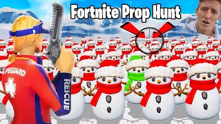 Tfue plays Fortnite PROP HUNT (codes in description)