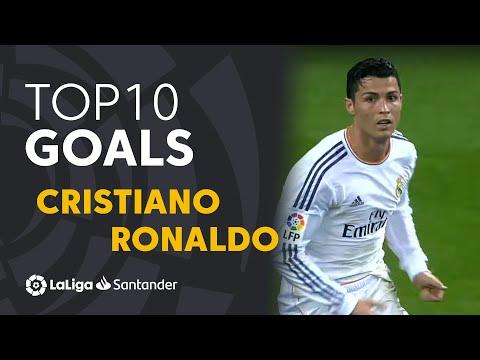 TOP 10 Goals Cristiano Ronaldo LaLiga Santander