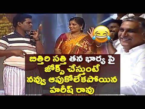 Actor Bithiri Sathi Funny Punches on His Wife