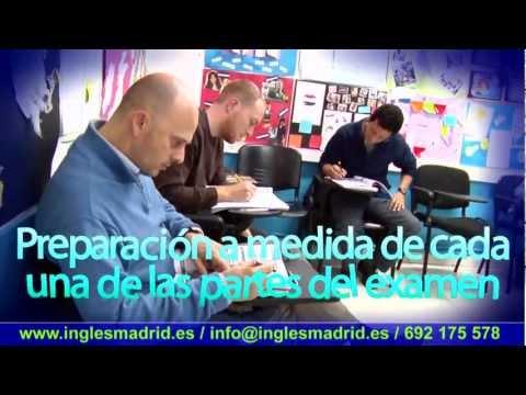 Examen First en Madrid
