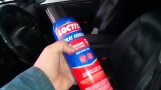 Чем и как приклеить потолок в авто