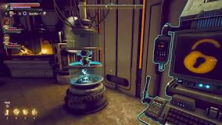 """udl lab weapons terminal keycard location """"Outer Worlds"""""""
